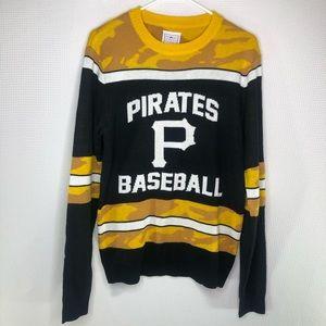 Pittsburgh Pirates Baseball Sweater Black Yellow S